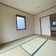 6帖の和室。二か所窓があります