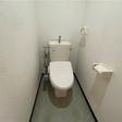 ウォームレット付きのトイレです