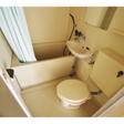 バストイレ一緒で、お風呂に洗面台が付いています