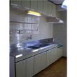 ゆったりしたキッチン 写真は401です