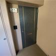 インターフォン付きの玄関