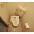 ウォシュレットを新設したトイレ