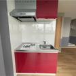 2口ガスコンロを設置するキッチン