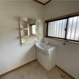 洗面台と室内洗濯機置き場