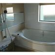 お風呂に窓があります。