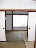 2013/06/28 2間続きの和室で落ち着きます。