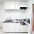 キッチン (つくば市天久保 賃貸アパート 独立洗面台 南向き)