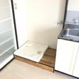 室内洗濯機置き場 (つくば市春日 賃貸アパート 筑波大学周辺 ネット無料)