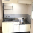 キッチン (つくば市春日 賃貸アパート 筑波大学周辺 ネット無料)