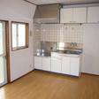 キッチン ガスコンロ設置可 作業スペース広めです