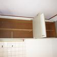 キッチン上部には収納スペースが付いています