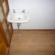 洗面スペース。洗濯機置き場もこちらです
