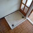洗濯機置場に防水バンが設置されています