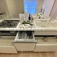 家事をサポートする食洗器付きシステムキッチン