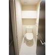 トイレ 高さが丁度いい収納棚