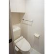 トイレ 収納棚の高さが調度いい